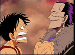 Luffy et Crocodile